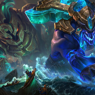 Worldbreaker Nautilus and Trundle Splash Concept (by Riot Artist <a href=