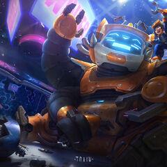 Nunu & Willump Bot Splash Update Concept 1 (by Riot Artist <a rel=