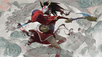 Akali Update BloodMoon Splash concept 01