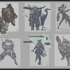Aphelios Concept 1 (by Riot Artist <a href=