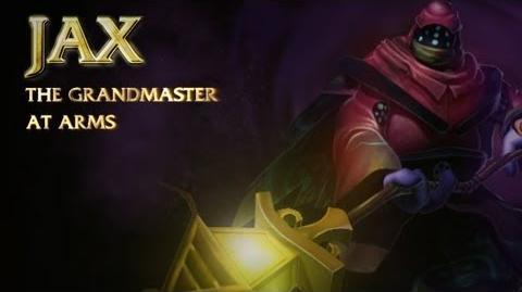 Prezentacja Bohatera - Jax, Mistrz Broni