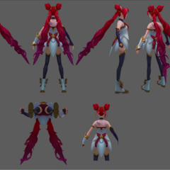 Star Guardian Jinx Model 4 (by Riot Artist <a href=