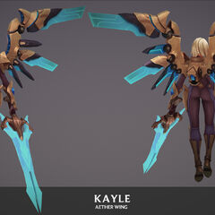 Aether Wing Kayle Update Model 2 (by Riot Artist <a href=