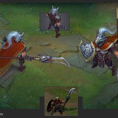 Glaive Warrior Pantheon Update Concept 2 (by Riot Artist <a href=