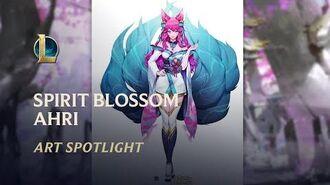 Seelenblumen-Ahri - Seelenbande Art Spotlight League of Legends