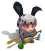 Teemo Cottontail (Speckled)