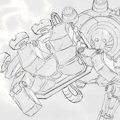 Blitzcrank Splash Concept 1 (by Riot Artist <a href=