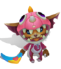 Gnar Dino (Rose Quartz)