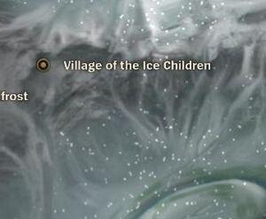 Ice Children Village map