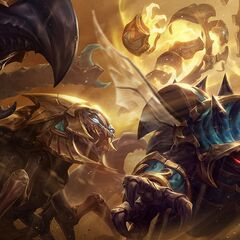 Guardian of the Sands Rammus, Skarner, and Xerath