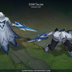 SSW Talon Concept (by Riot Artist <a href=
