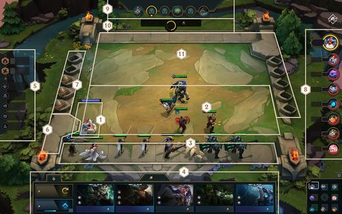Teamfight Tactics Arena configuration
