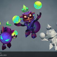 Battle Boss Ziggs Model (by Riot Artists <a href=