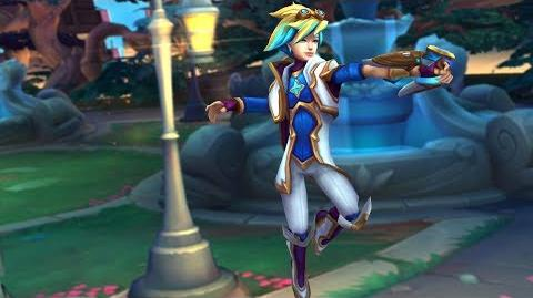 Ezreal - Star Guardian 2017