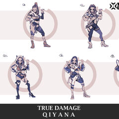 True Damage Qiyana Concept 4 (by Riot Artist <a rel=