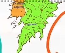 Saabera map