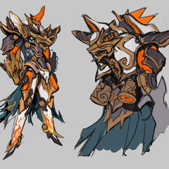 Mecha Kingdoms Sett Concept (by Riot Artist <a href=