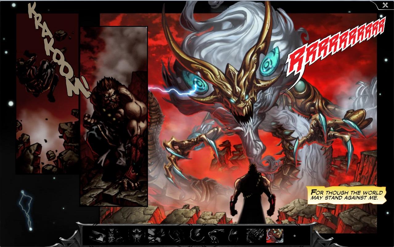 Udyr SpiritGuard Comic pr10