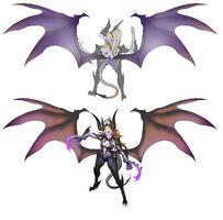 Zyra Drachenherrin Konzept 02