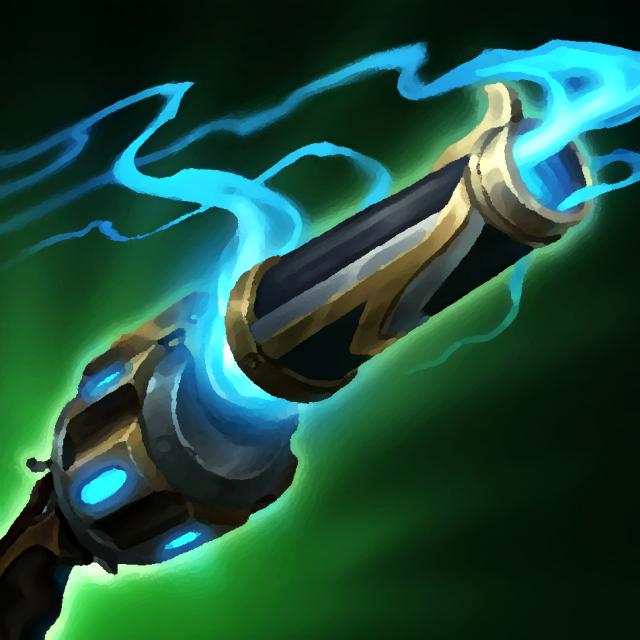 Hextech-Revolver item