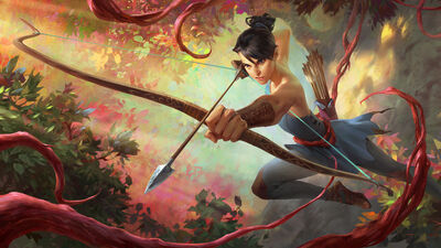 Ionia The Bow, and the Kunai