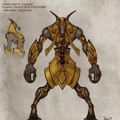 Grafika koncepcyjna Nasusa 2 (w wykonaniu Augie Pagana)