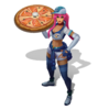 Sivir PizzaDelivery (Aquamarine)
