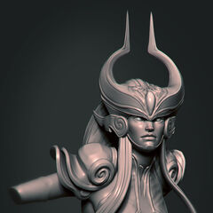 Syndra Model 2 (by Riot Artist <a href=