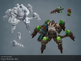 Urgot Update Fleischer- model 01