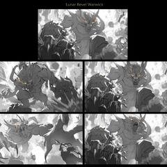 Lunar Guardian Warwick Splash Concept 1 (by Riot Artist <a href=