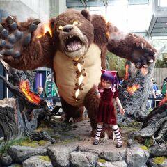Annie Statue Promo 1