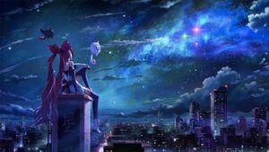 Czarodziejka Gwiazd Jinx - Scena