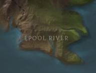 Epool River map