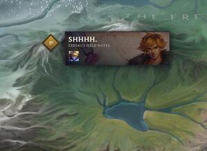 Ezreal Shhhh. map