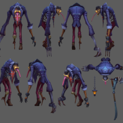 Union Jack Fiddlesticks Update Model