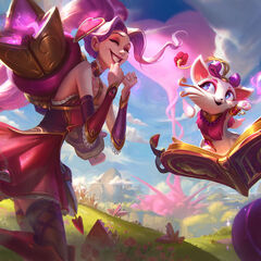 Heartseeker Jinx and Yuumi