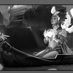 Sun Goddess Karma Update Splash Concept 2 (by Riot Artist <a href=
