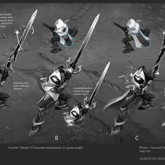 Cosmic Blade Yi Concept 4 (by Riot Artist <a href=