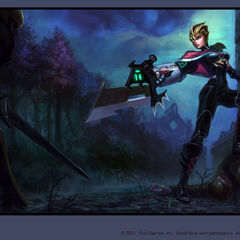 Crimson Elite Riven Splash Concept (by Riot Artist <a href=