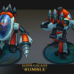 Super Galaxy Rumble Model (by Riot Artist <a href=