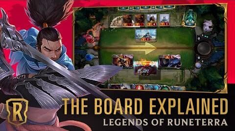 The Board Explained Legends of Runeterra