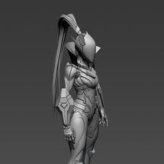PROJECT: Vayne The Hunt Model 2 (by Riot Artist <a rel=
