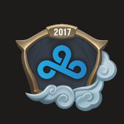 Worlds 2017 Cloud9 Emote
