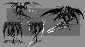 Aatrox Flügel Konzept