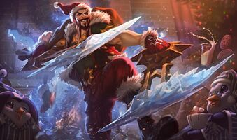 Draven Weihnachts-Draven S