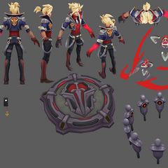 Battle Academia Ezreal Model 7 (by Riot Artist <a href=