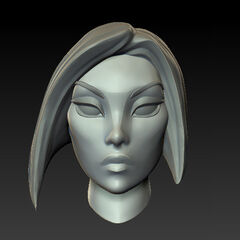 Fiora Update Model 1 (by Riot Artist <a href=
