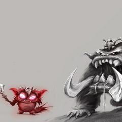 Gnar Concept 12 (by Riot Artist Edmundo 'odunmde' Sanchez)