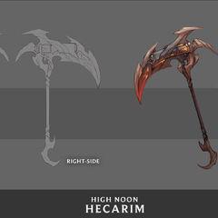 High Noon Hecarim Concept 4 (by Riot Artist <a href=