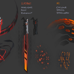 PROJECT: Lucian Weapon Particles Concept